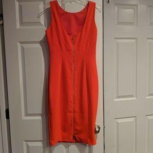 H&M Dresses - Coral Bodycon
